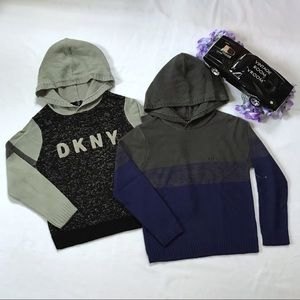 DKNY NWOT Knitted Sweaters Bundle Boys 6